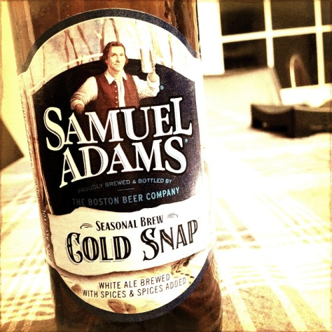 Обзор пива. Samuel Adams Cold Snap.