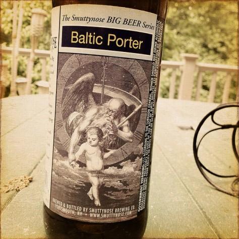 Обзор пива. Smuttynose Baltic Porter.
