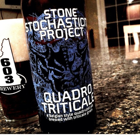 Обзор пива. Stone Stochasticity Project Quadrotriticale.