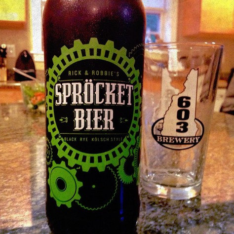 Обзор пива. Stone Sprocket Bier.
