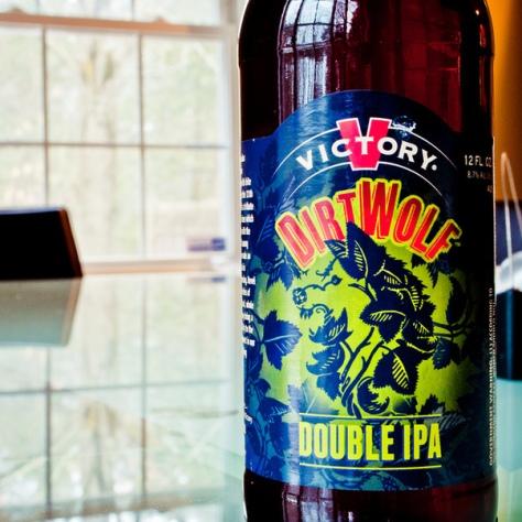 Обзор пива.Victory DirtWolf.