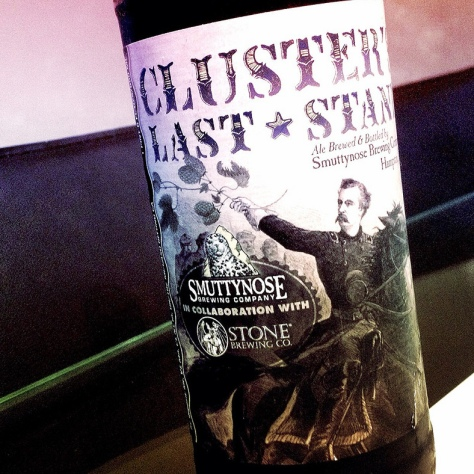 SMUTTYNOSE CLUSTER'S LAST STAND. [ОБЗОР ПИВА].