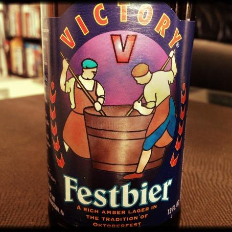 Обзор пива. Victory Festbier.