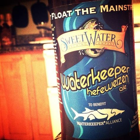 Обзор пива. SweetWater Waterkeeper.