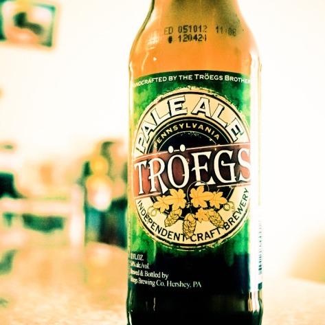 Обзор пива. Tröegs Pale Ale.