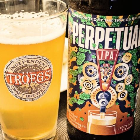 Обзор пива. Tröegs Perpetual IPA.