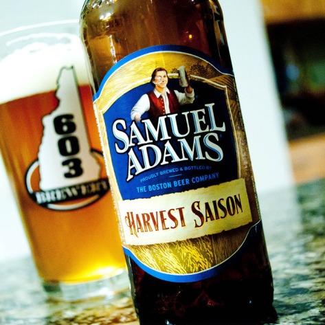 Обзор пива. Samuel Adams Harvest Saison.