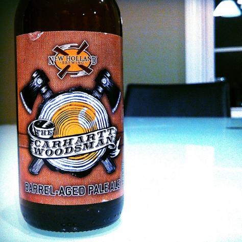 Обзор пива. New Holland The Carhartt Woodsman.