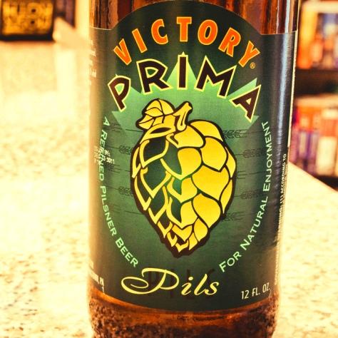 Обзор пива. Victory Prima Pils.