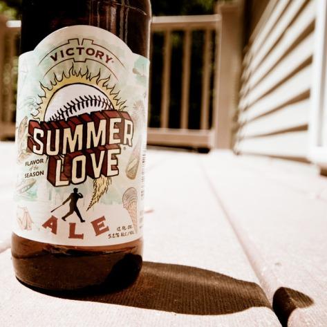 Обзор пива. Victory Summer Love.