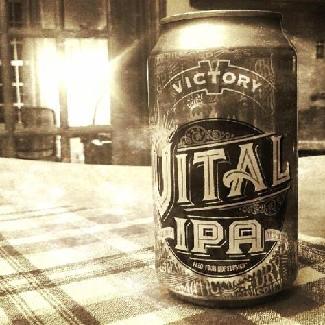 Обзор пива. Victory Vital IPA.