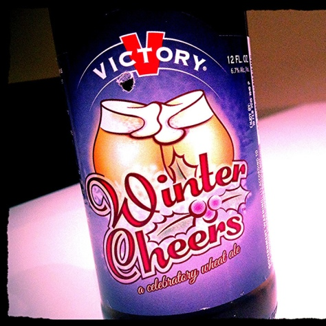 Обзор пива. Victory Winter Cheers.