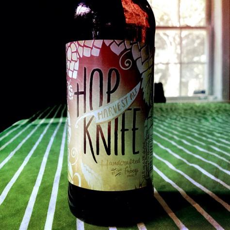 Обзор пива. Tröegs Hop Knife Harvest Ale.