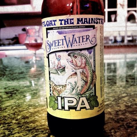 Обзор пива. SweetWater IPA.