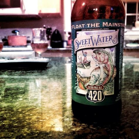Обзор пива. SweetWater 420.