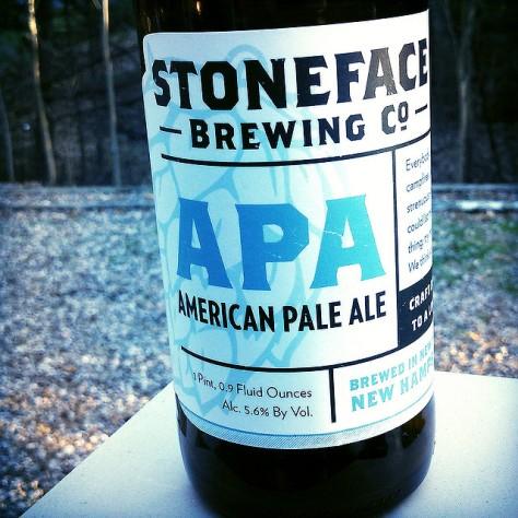 Обзор пива. Stoneface APA.