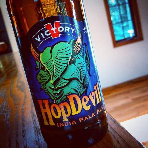 Обзор пива. Victory Hop Devil.