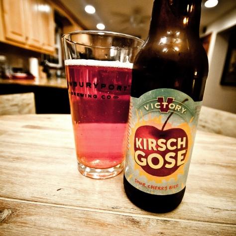Обзор пива. Victory Kirsch Gose.
