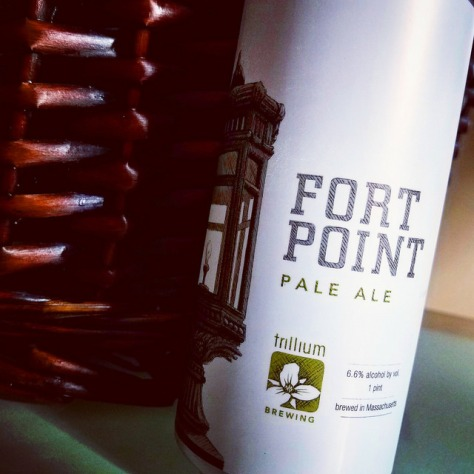 Обзор пива. Trillium Fort Point Pale Ale.