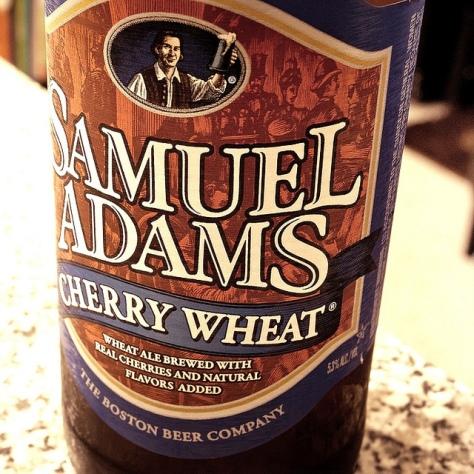 Обзор пива. Samuel Adams Cherry Wheat.