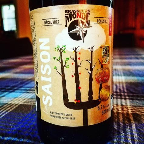 Обзор пива. Du Monde Gamme Passion Saison Tradition.
