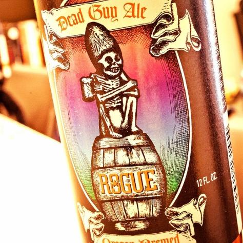 Обзор пива. Rogue Dead Guy Ale.