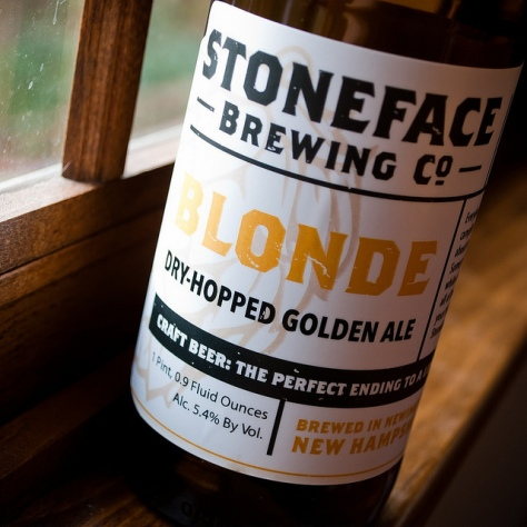 Обзор пива. Stoneface Blonde Ale.
