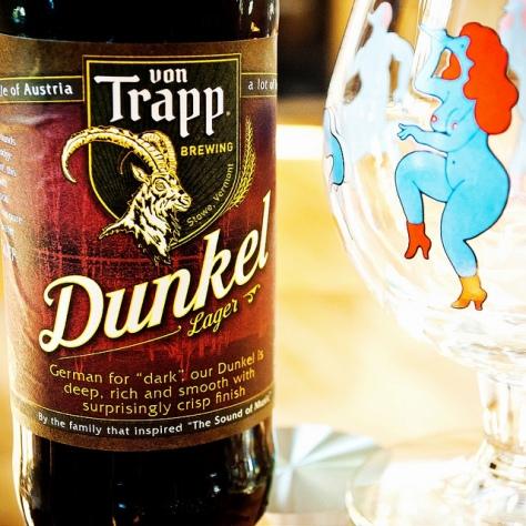 Обзор пива. Von Trapp Dunkel.