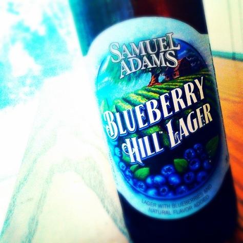 Обзор пива. Samuel Adams Blueberry Hill Lager.