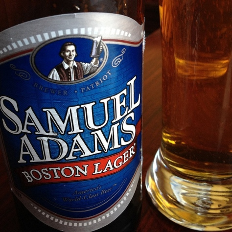 Обзор пива. Samuel Adams Boston Lager.