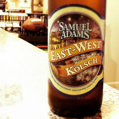 Обзор пива. Samuel Adams East-West Kölsch.