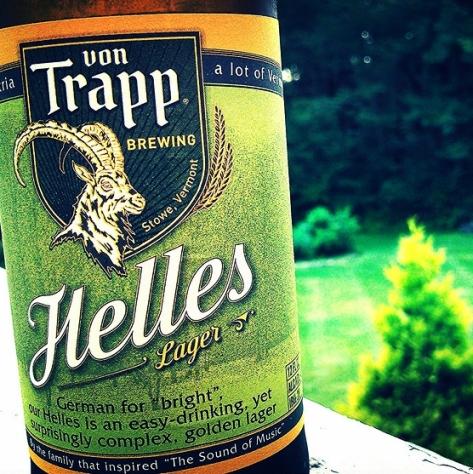Обзор пива. Von Trapp Golden Helles Lager.
