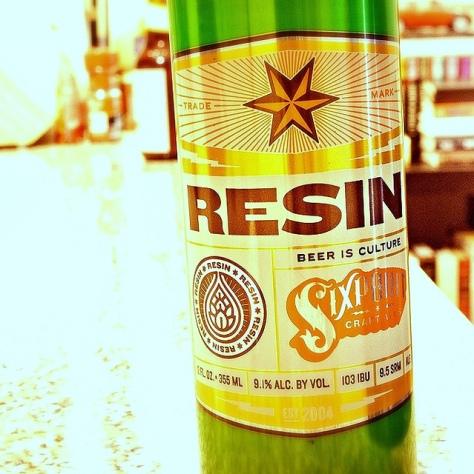 Резиновый IPA. Sixpoint Resin. Обзор пива.