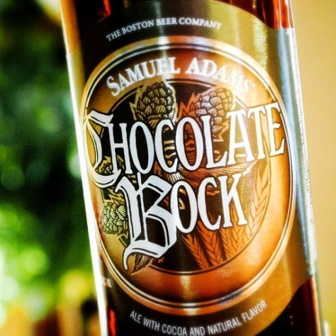 Обзор пива. Samuel Adams Chocolate Bock.