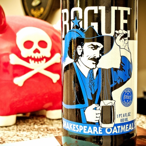 Обзор пива. Rogue Shakespeare Oatmeal Stout.