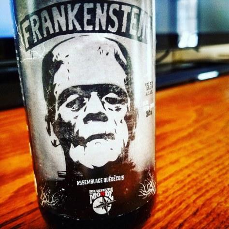 Обзор пива. Du Monde Frankenstein.