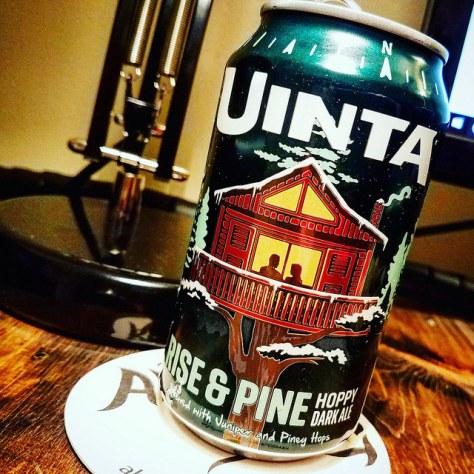 Обзор пива. Uinta Rise & Pine Hoppy Dark Ale.