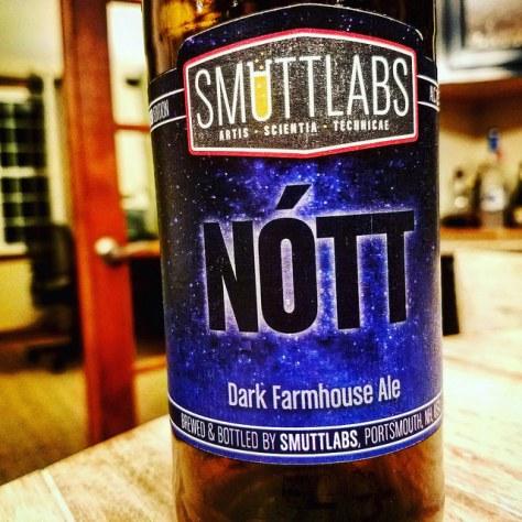 Обзор пива. Smuttynose Smuttlabs Nótt.