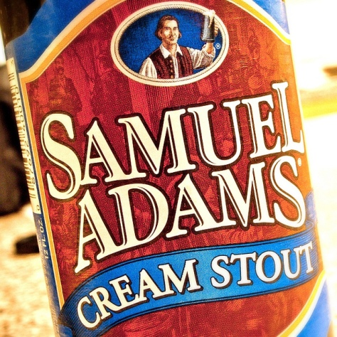 Обзор пива. Samuel Adams Cream Stout.