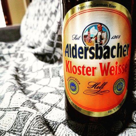 Обзор пива. Aldersbacher Kloster Weisse Hell.