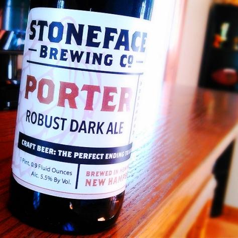 Обзор пива. Stoneface Porter.