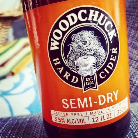 Обзор крепкого сидра. Vermont Woodchuck Semi-Dry.