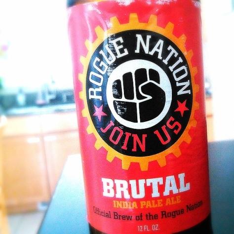 Обзор пива. Rogue Brutal.