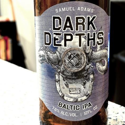 Обзор пива. Samuel Adams Dark Depths.