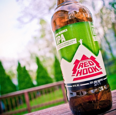 Обзор пива. Redhook Long Hammer IPA.