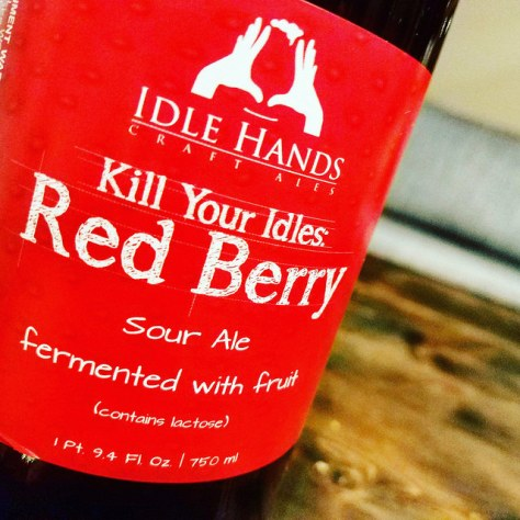 Обзор пива. Idle Hands Kill Your Idles: Red Berry.