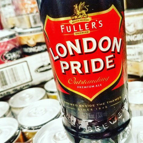 Английский пэйл эль. English Pale Ale. Fuller's London Pride. Обзор пива.