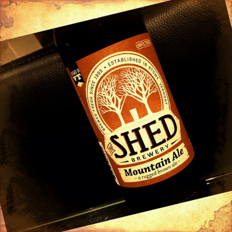 Обзор пива. Shed Mountain Ale.