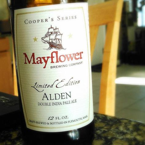 Mayflower Alden. [Обзор пива].