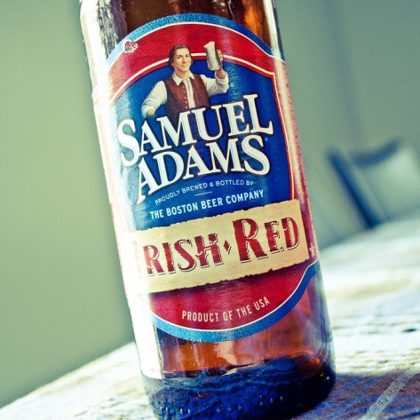 Обзор пива. Samuel Adams Irish Red.